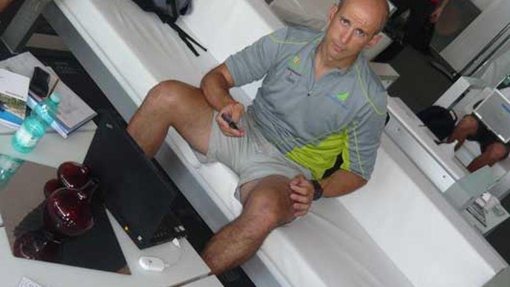 El director técnico-deportivo del Desafío Español 2007, Agustín Zulueta