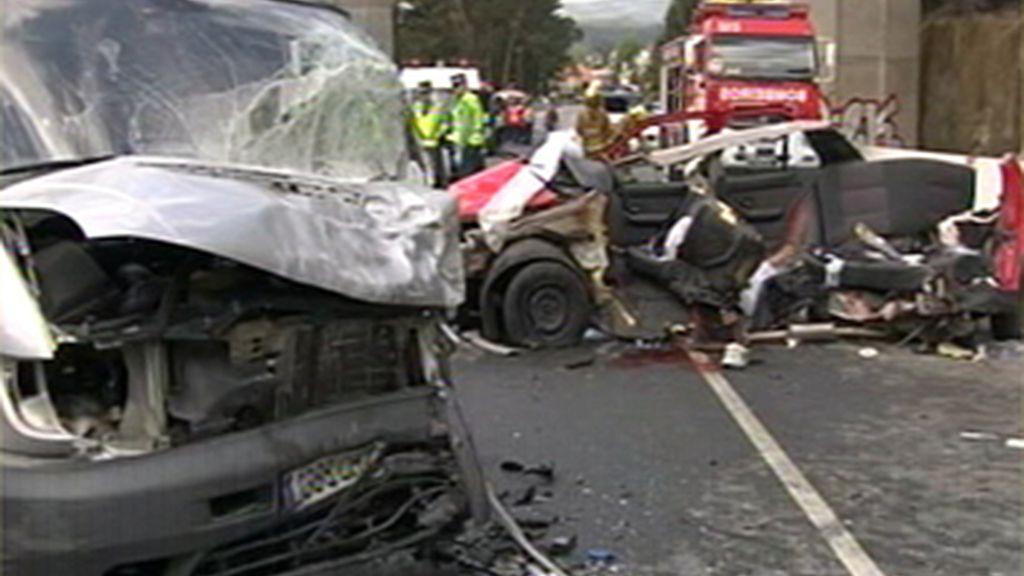 La joven implicada en un accidente en el que han fallecido tres personas tenía sólo un día de carné