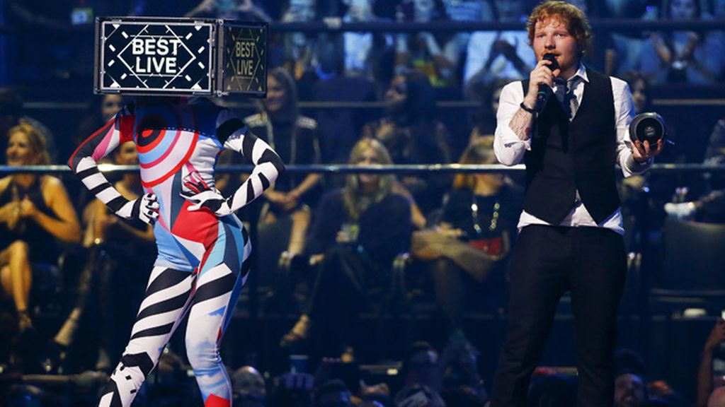 Ed Sheeran, premio al mejor directo