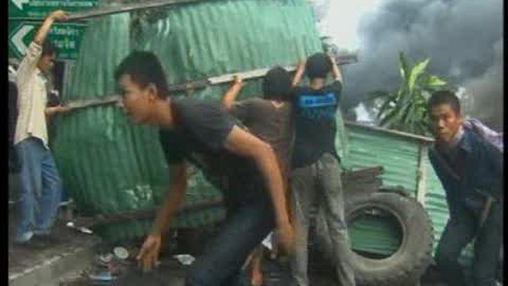 Tensión en Tailandia