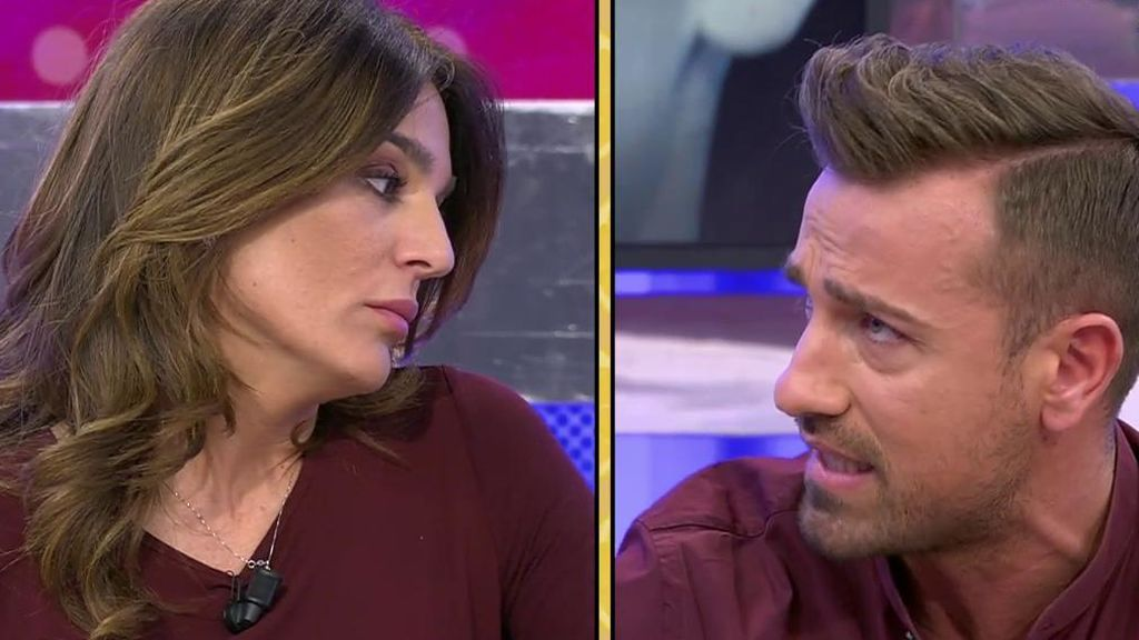 Raquel Bollo vuelve a 'Sálvame' y se lía en plató: Así ha sido su pique con Rafa Mora