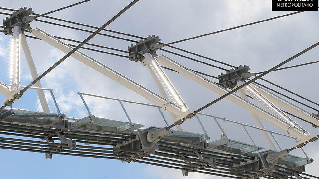¡Trabajo de altura! El nuevo estadio del Atlético ya tiene cubierta