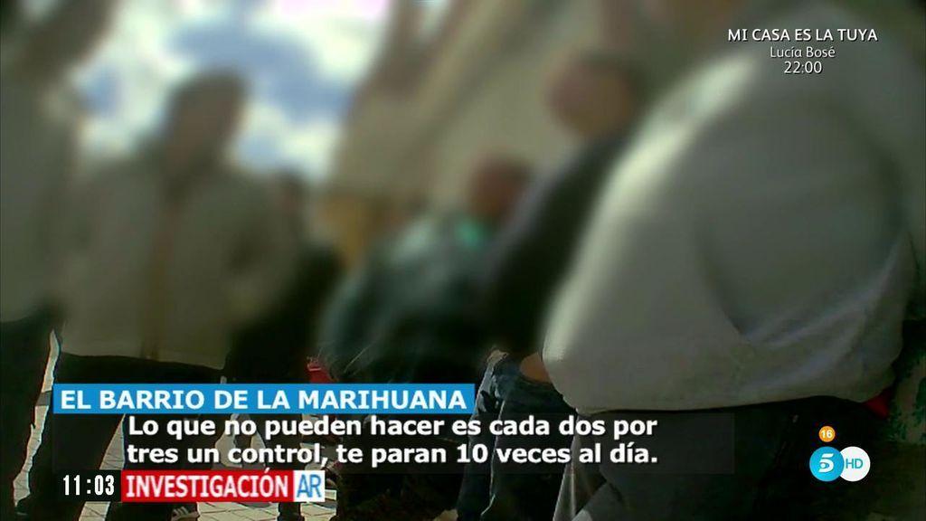 'AR' entra en el barrio granadino de La Paz, conocido como el barrio de la marihuana