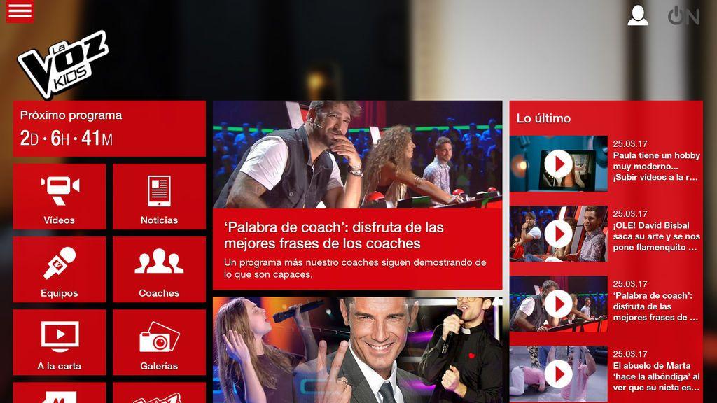 La Voz Kids 3 App