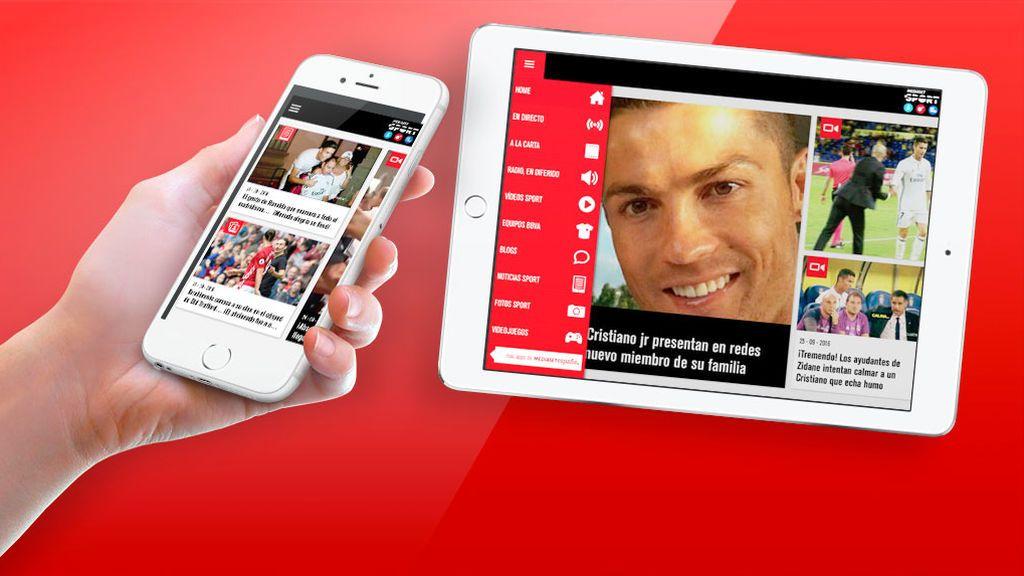 App de Mediaset Sport - Deportes Cuatro