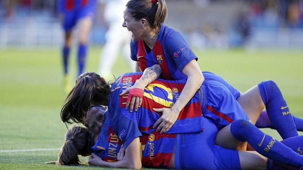 ¡Épico pase del Barça femenino! Primer equipo español de la historia en unas semifinales de Champions