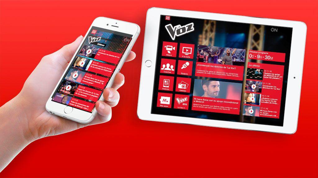¡Vive La Voz desde la app oficial!