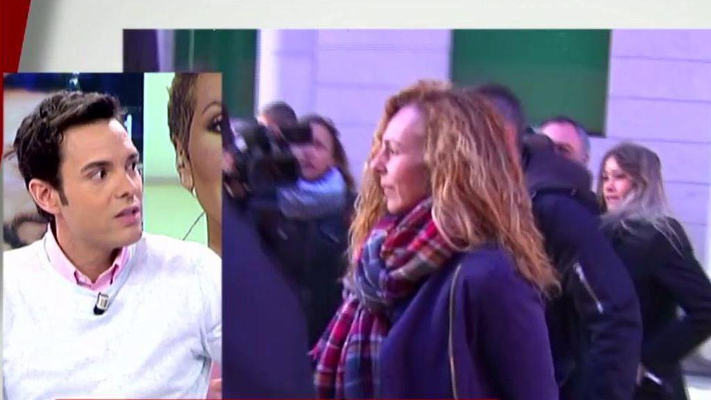 Rossi explica la demanda de Rocío Carrasco: más de 100 páginas y tres delitos por violencia de género