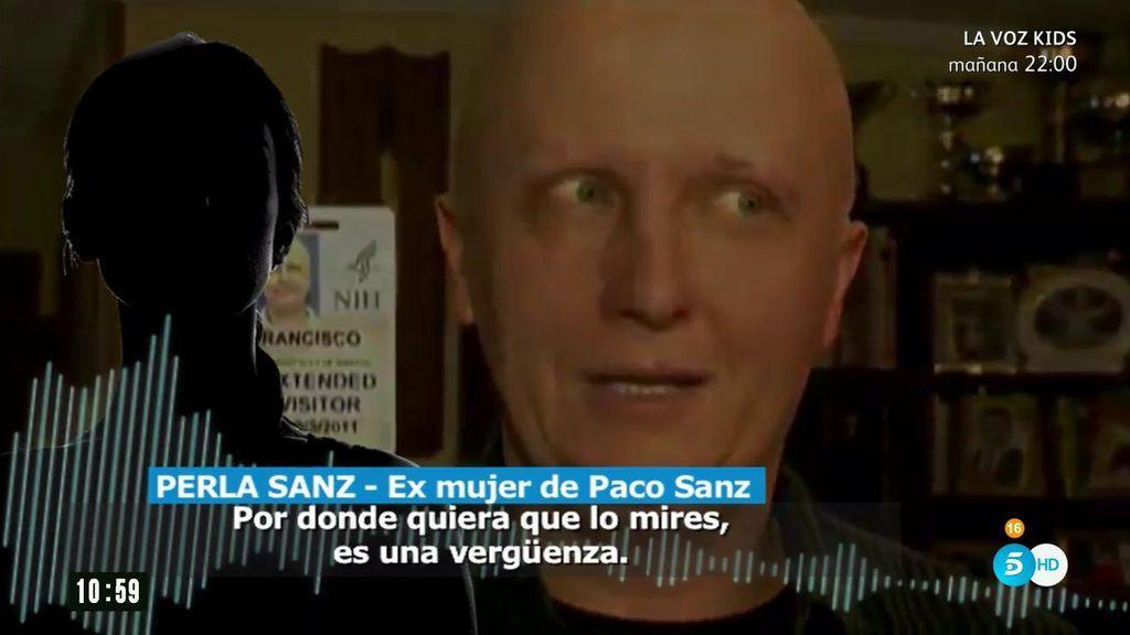 """La exmujer de Paco Sanz: """"Me era infiel y quería meter a Laura en mi casa"""""""