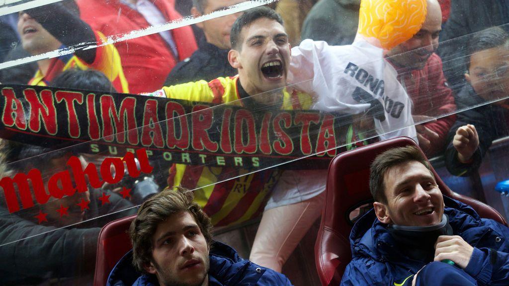 Uno de cada diez catalanes se declara… madridista