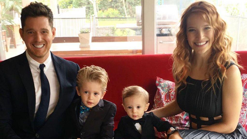 La familia Bublé regresa a Buenos Aires