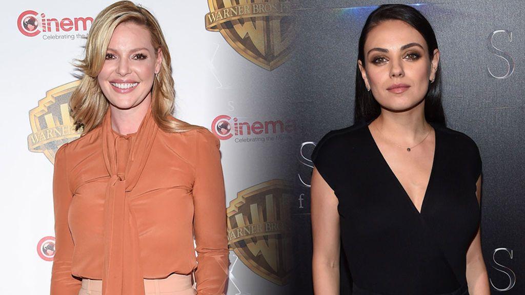 Katherine Heigl y Mila Kunis: dúo de mamás postparto en la Cinemanon de Las Vegas