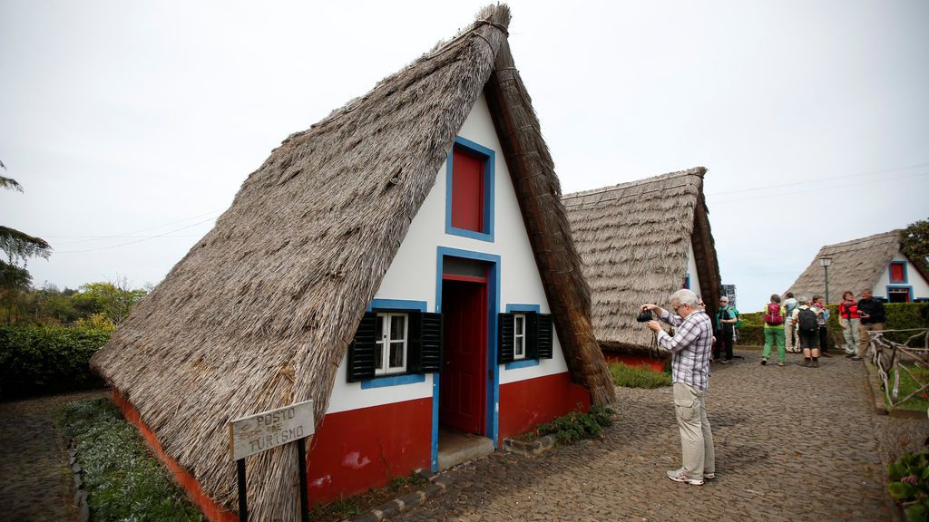 Casas tradicionales en Madeira