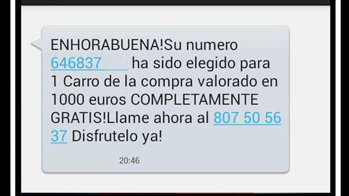 Éste es el nuevo fraude que puedes recibir en tu teléfono móvil