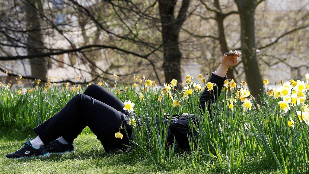 El Parque Sant James de Londres