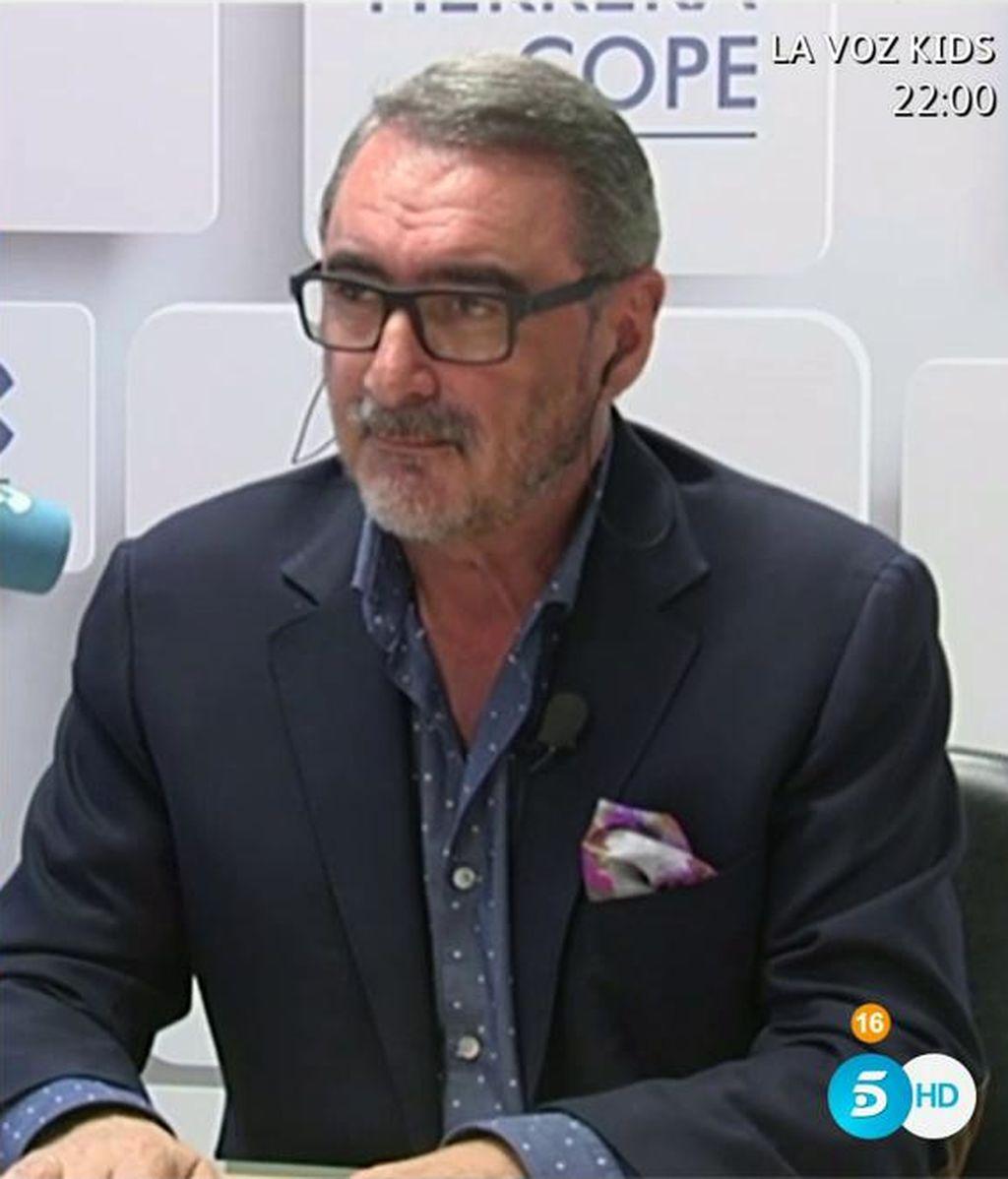 Carlos Herrera en 'El programa de Ana Rosa'