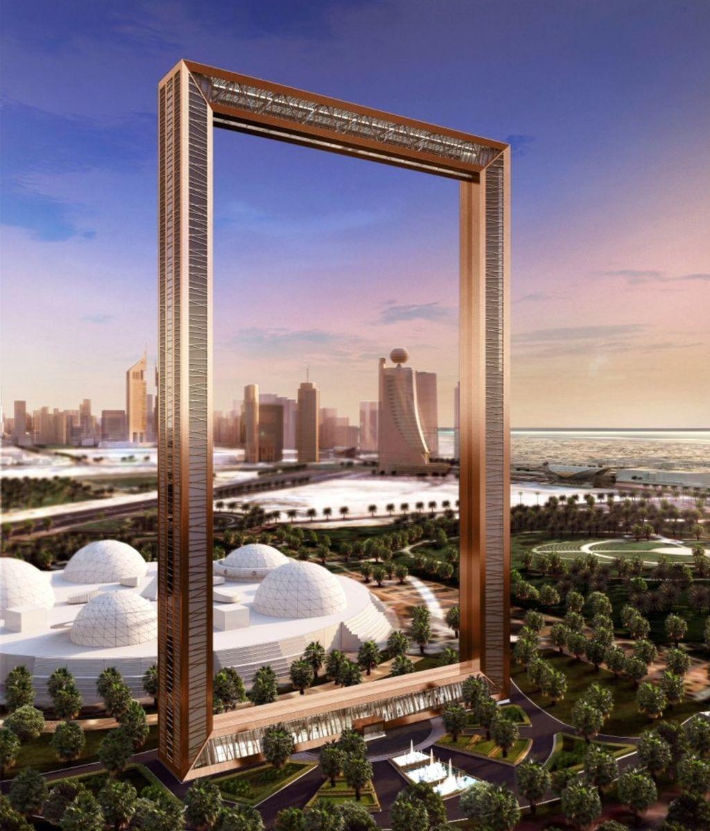 Dubái, a punto de inaugurar un rascacielos que 'enmarcará' la ciudad