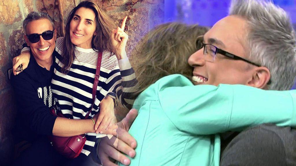 """Paz ya conoce a las hijas de Kiko Hernández: """"Nada reconforta más que ver a tu amigo feliz"""""""