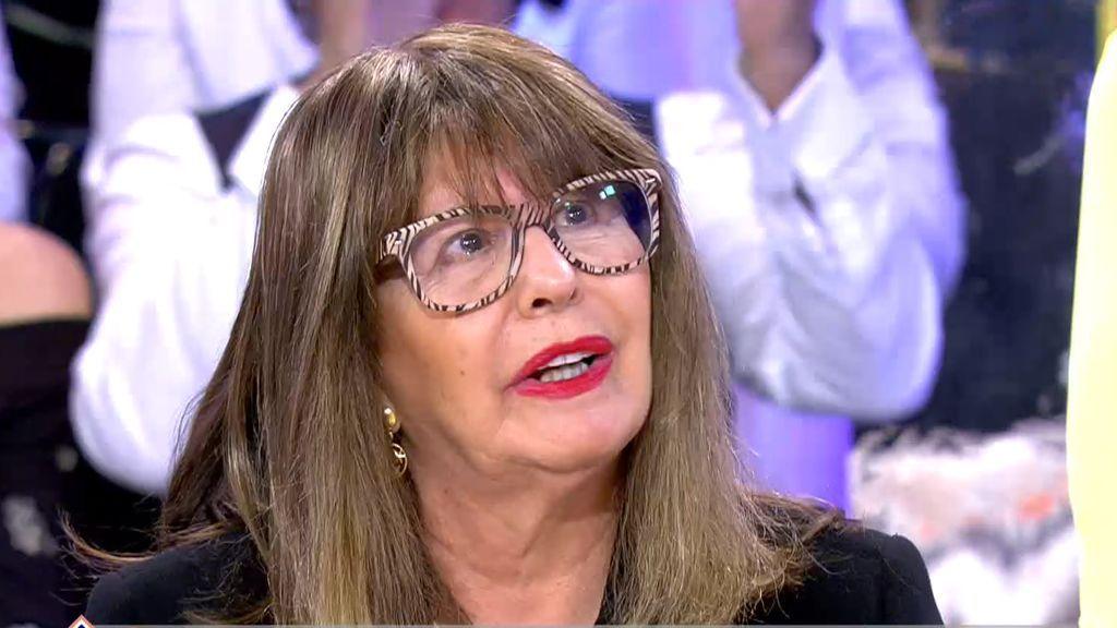 """Mª Teresa, a Esperanza Gracia: """"No estoy para cosas raras en el horóscopo"""""""