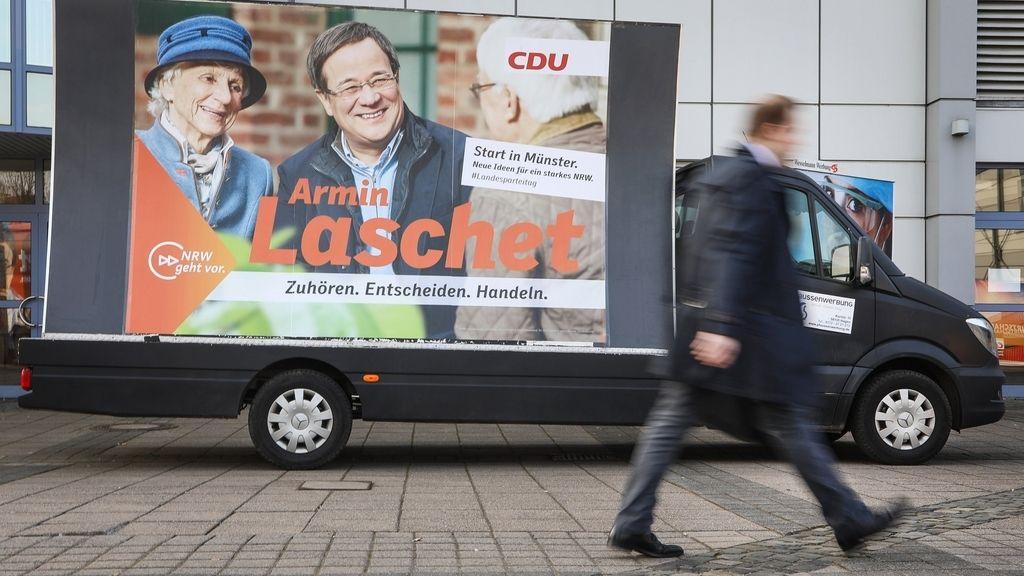 Cartel de las elecciones estatales de Alemania