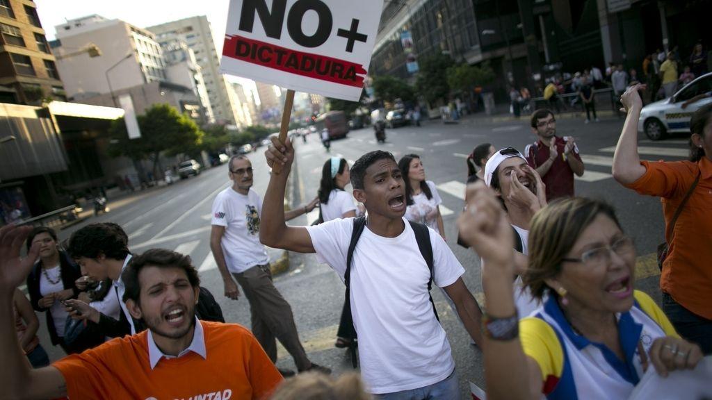 Manifestaciones en Venezuela contra la dictadura