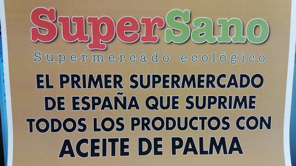 Una cadena de supermercado deja de vender productos con aceite de palma