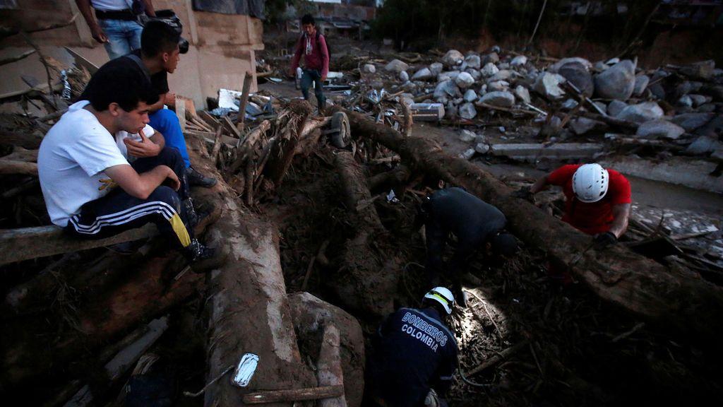 Asciende a 254 la cifra de muertos por las inundaciones y las avalanchas en Colombia