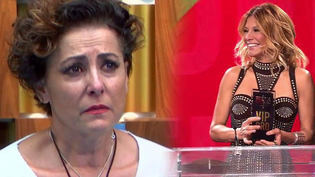 Irma Soriano gana el premio a la traición más dolorosa por haber nominado a Emma