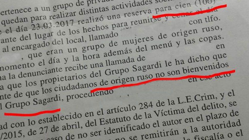 Denuncian a un restaurante vasco en Madrid por anular una reserva a cien comensales rusos