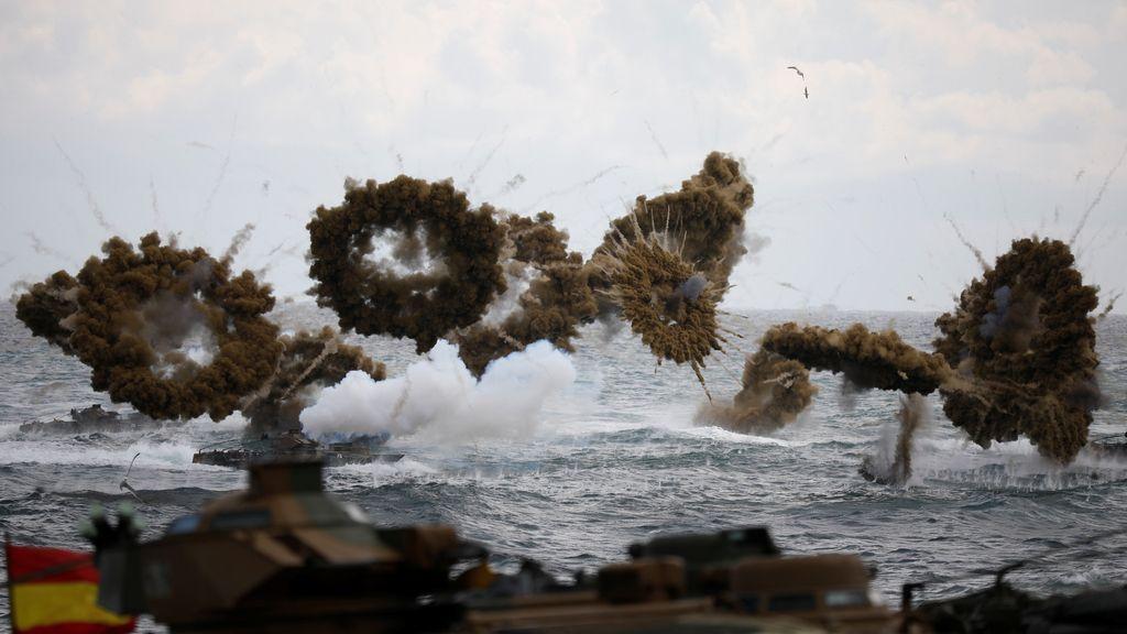 Entrenamiento militar en Corea del Sur