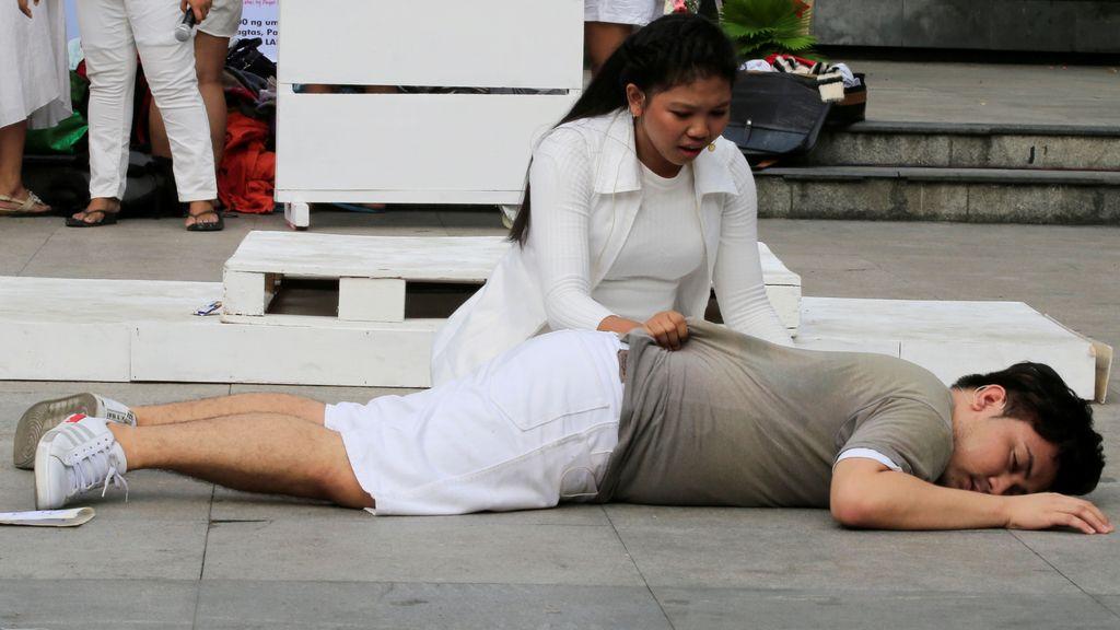 Representación teatral en Filipinas