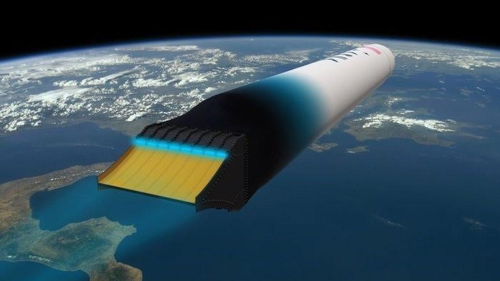Presentan el primer cohete capaz de llegar a la órbita con una sola etapa