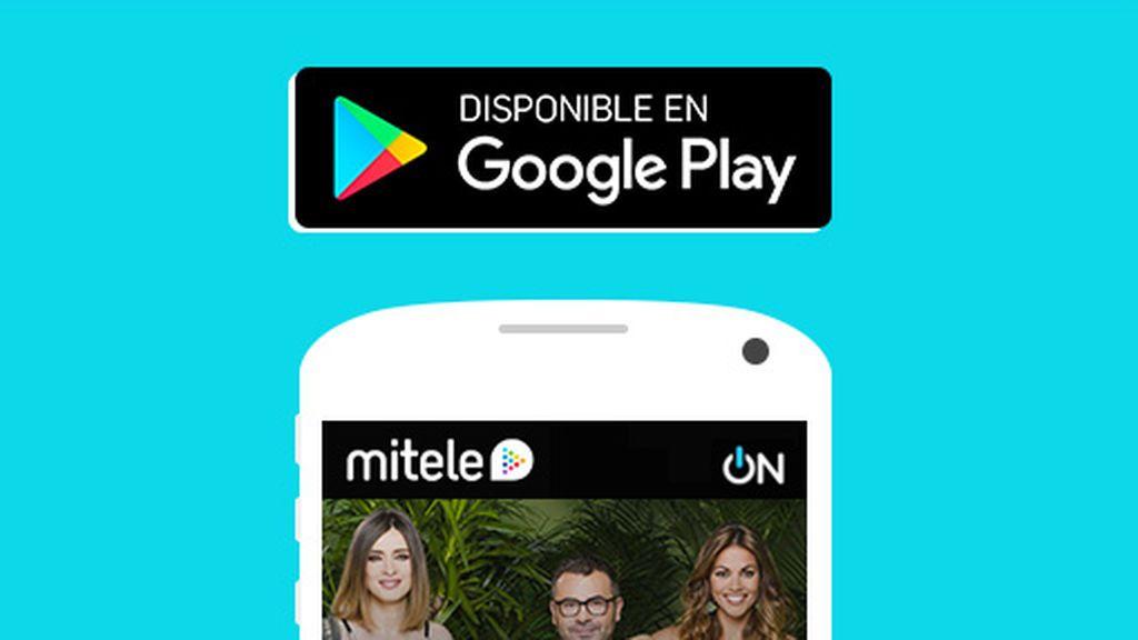 Supervivientes desde la App de mitele para Android
