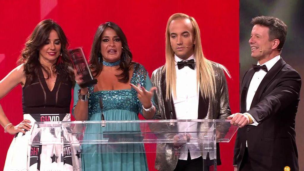 Aída Nízar y Elettra, ganadoras del premio 'VIP de Oro' por sus temibles enfrentamientos