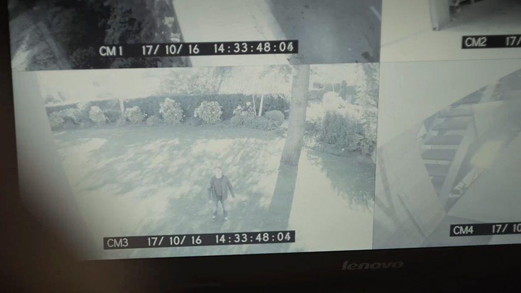 Marc robó las imágenes de las cámaras de seguridad de la casa de Alicia