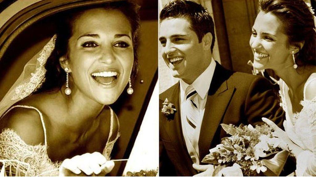 Hoy se separan, hace once años se casaban: así fue la boda de Paula Echevarría y Bustamante
