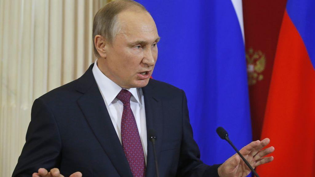 Putin no descarta que las explosiones en el metro de San Petersburgo sea un atentado terrorista
