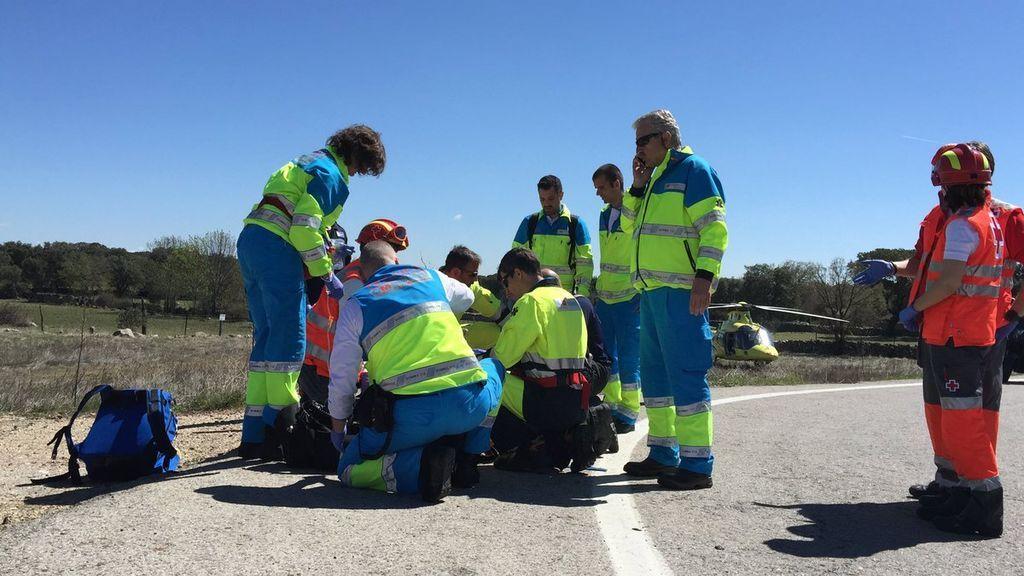 Doce personas fallecen en las carreteras españolas durante el fin de semana, cuatro de ellos motoristas