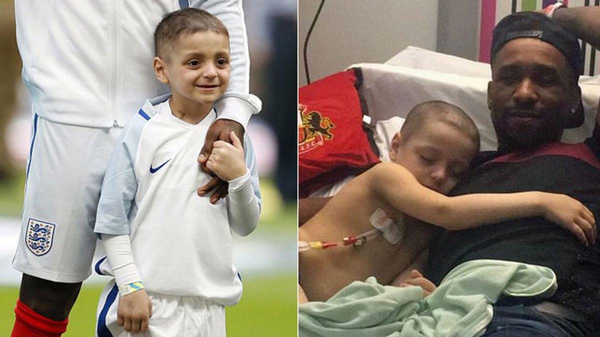 ¡Nueva esperanza para Bradley! El niño enfermo de cáncer y amigo de Defoe, se someterá a un nuevo tratamiento