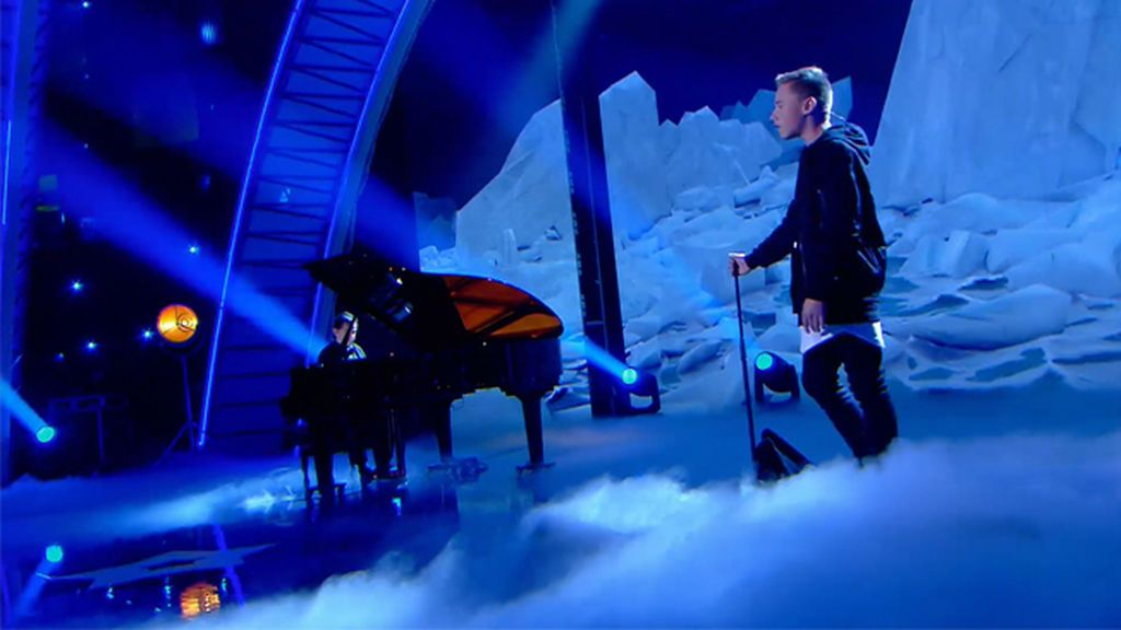 Ryan Chapman y Enrique Ros, una unión perfecta sobre el escenario de 'Got Talent Junior'