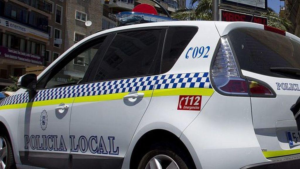 coche policía local