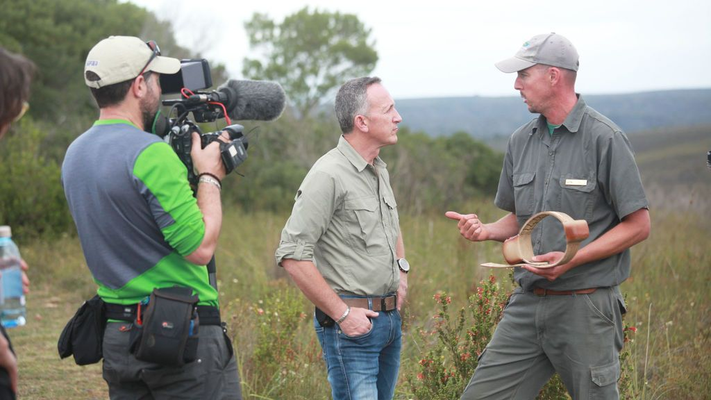 Kike Calleja en 'Río Salvaje en Gondwana'