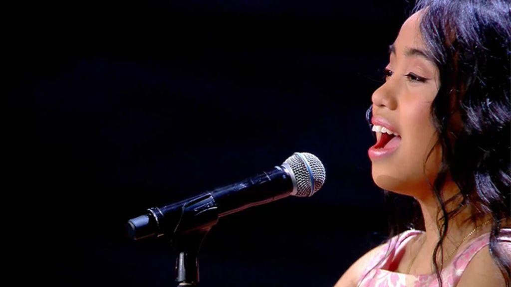 Dianne Jacob  también convence cantando en español