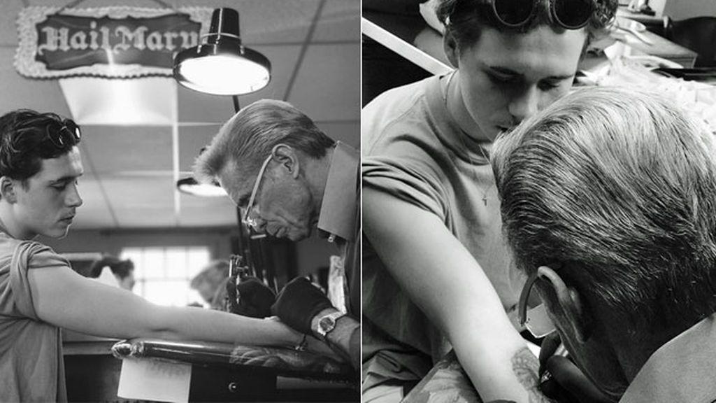 El hijo de Beckham dedica a su padre su primer tatuaje al cumplir 18 años