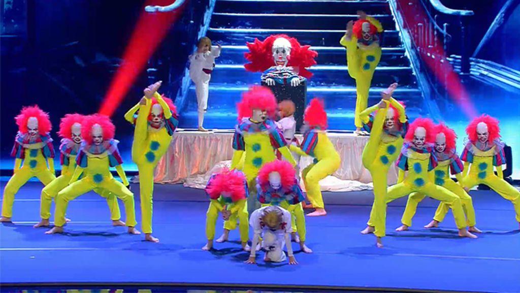 Victory sorprende con su terrorífica puesta en escena para 'Got Talent Junior'
