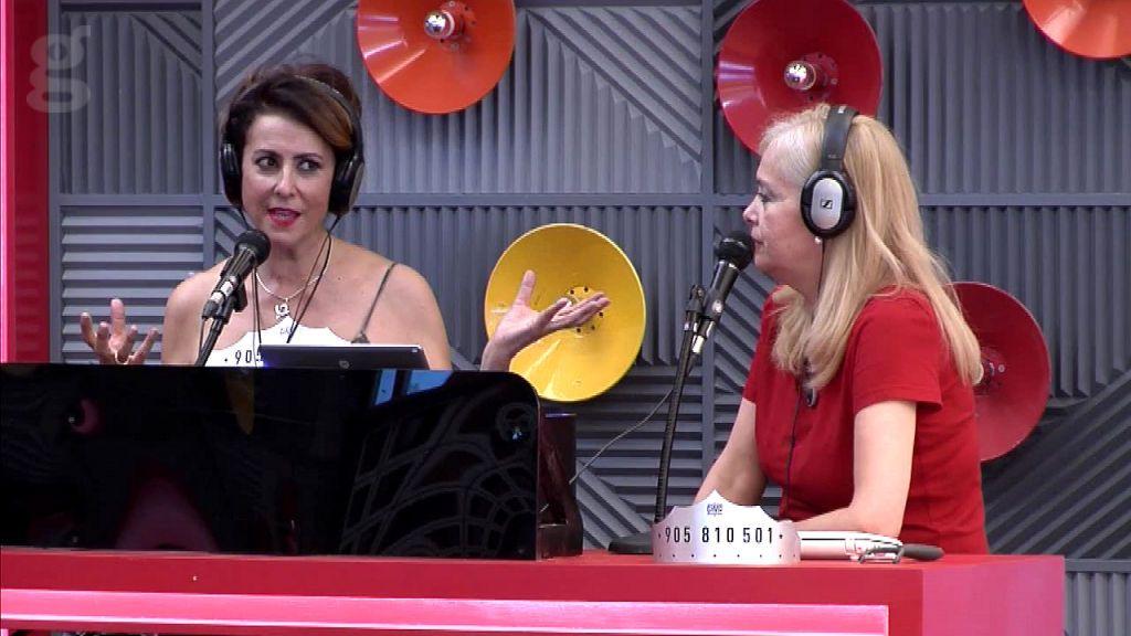 Irma y Emma en la radio