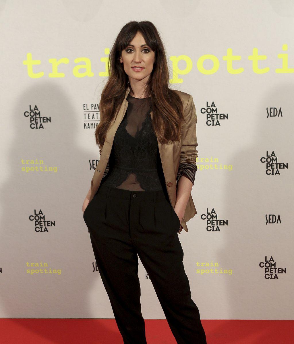 Thais Blume, David Castillo, Eva Isanta o Fran Perea, en el estreno teatral de 'Trainspotting'