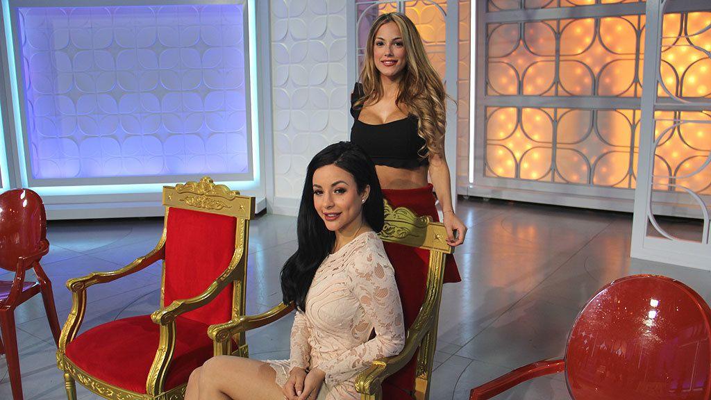 Marta y Rym, dos bellezones en el trono