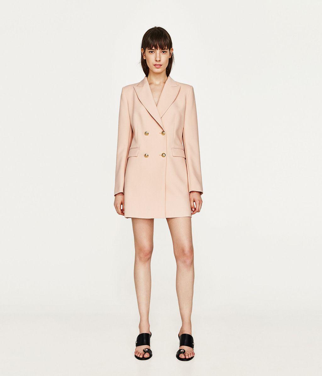 Blazer-vestido de Zara