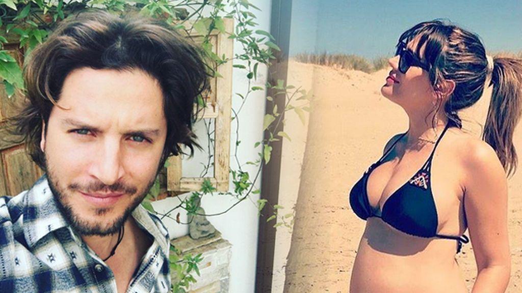 ¡Barriga de ocho meses! Almudena Navalón posa (muy) embarazada en sus redes